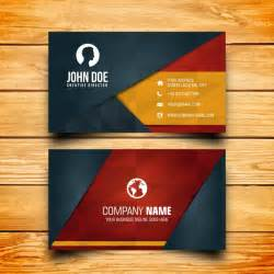business card free business card design vector free