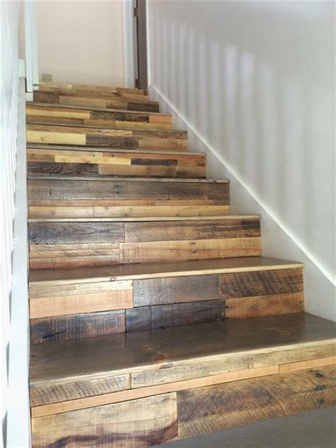How To Make Stairs Out Of Wood by 10 Used Old Pallet Wood Stairs Ideas Pallets Designs