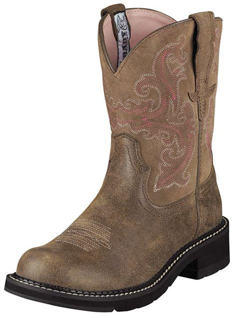 ariat s fatbaby cowboy boots brown bomber