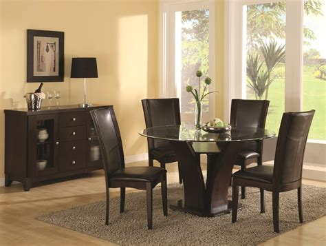 Dining Room Chairs For Glass Table Brown Wooden Legs With V Shape Also Square Base Combined