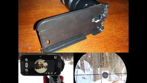 diy scope diy rifle scope smart phone scope mount 1