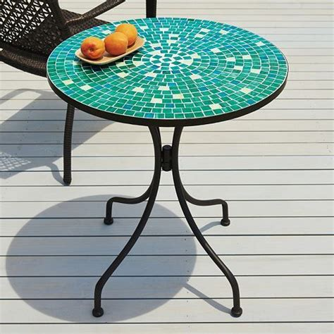Mosaic Bistro Table Set Alfresco Home Vulcano Mosaic Outdoor Bistro Table Ultimate Patio Bistro Table Set