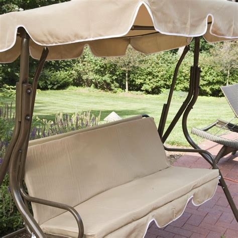 patio swing cover outdoor patio swing bench yard deck glider porch canopy
