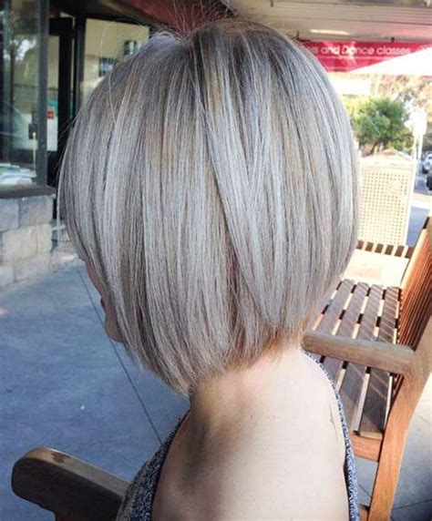ashblond with silver highlites short hair 10 ash blonde bob http www short haircut com 10 ash