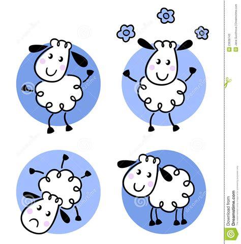 doodle jump x2 doodle sheep collection stock photos image 23636743