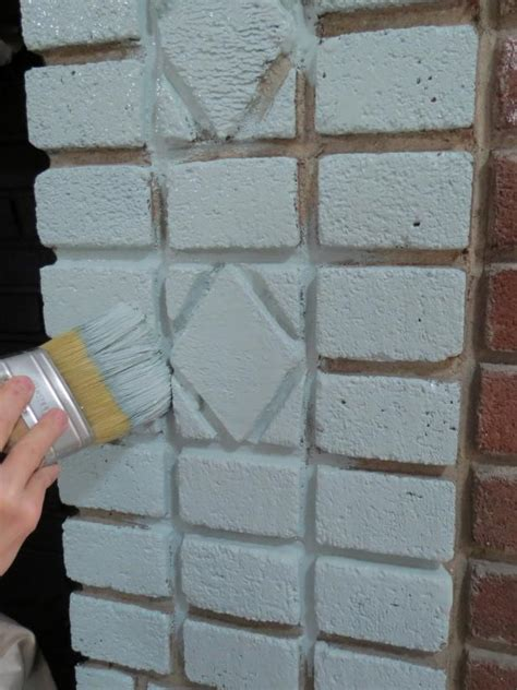 How To Remove Paint From Brick Fireplace by Painted Brick Fireplace Makeover How Tos Diy