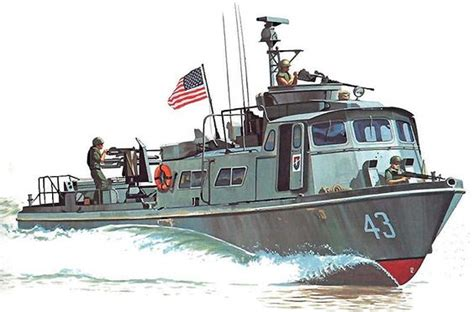 swift boat as quot pcf mk i swift boat during operation giant slingshot in