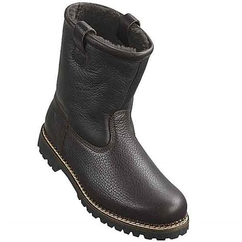 mens sheepskin lined boots tecnica yukon shearling lined boots for 74164 save 66