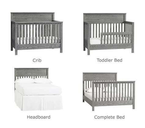 Where To Shop For Baby Cribs 4 In 1 Convertible Crib Pottery Barn