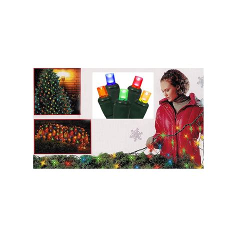 4 x 6 multi color twinkling led net style tree trunk