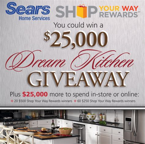 enter to win a kitchen makeover plus another 25 000