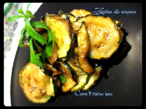 come cucino le zucchine zucchine alla scapece come ti cucino sano