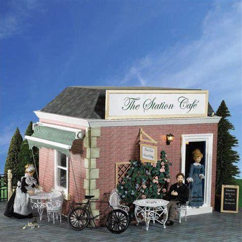 dolls house emporium shop the corner shop kit part 2 first floor roof dolls house emporium