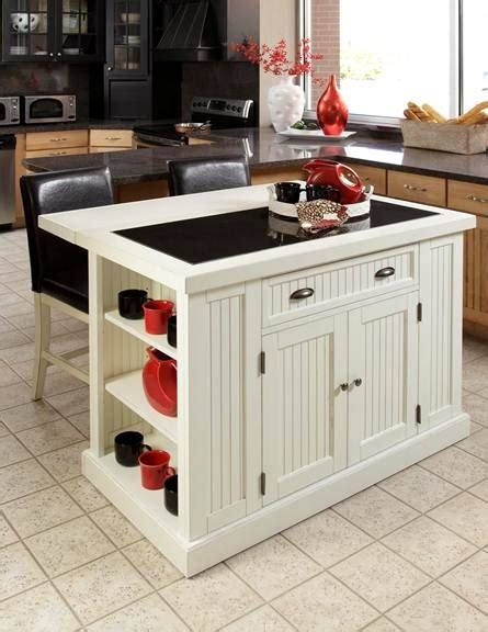 Nantucket Kitchen Island With Stools » Home Design 2017