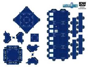 Papercraft Tardis - papercraft tardis doctorwho