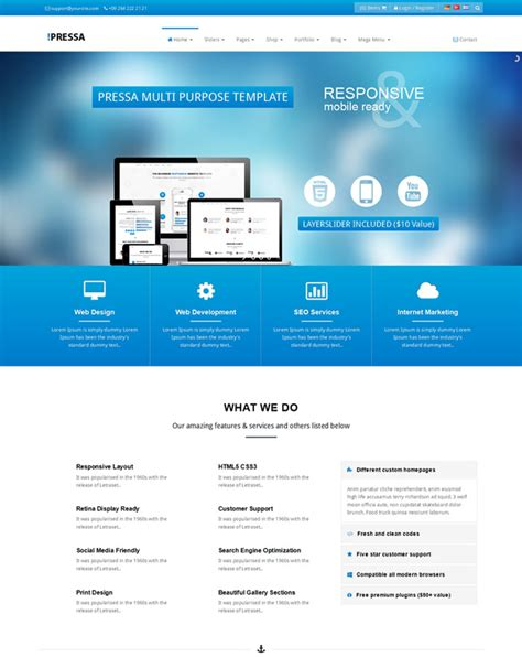 bootstrap themes software sle bootstrap templates free download commercialmarried