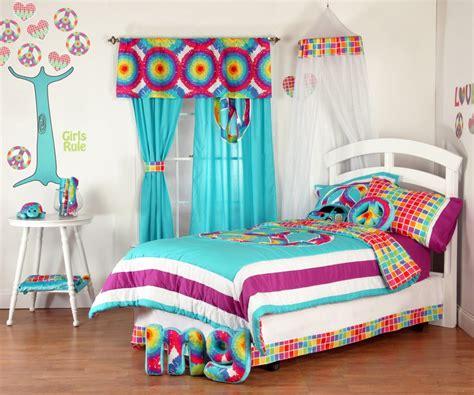 tie dye comforter set in showy size comforter