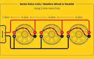 Single voice coil wiring options resistance formulas power cable chart