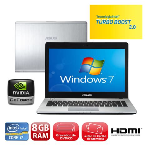 Laptop Asus N46vm I7 notebook asus n46vm v3080q intel 174 i7 3610qm 8gb