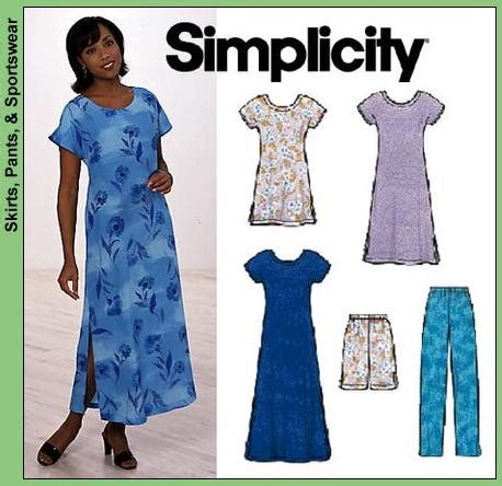 t shirt dress pattern simplicity simplicity 8136 t shirt tunic 1hour wardrobe sewing pattern