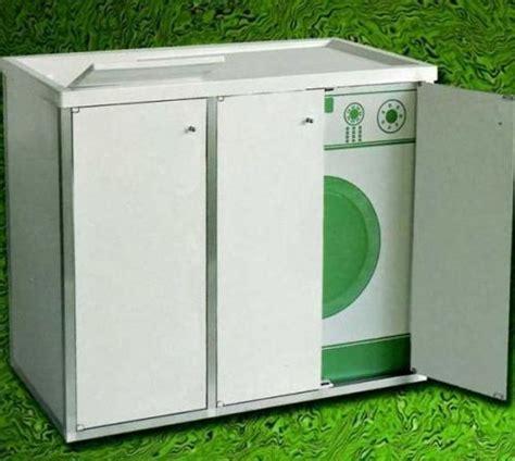 mobili da esterno in resina base coprilavatrice con lavatoio in resina per esterno o