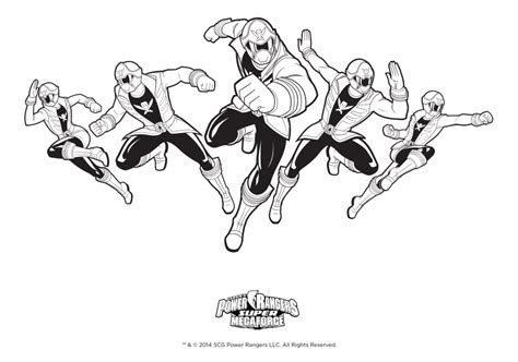 power rangers megaforce coloring pages power rangers super megaforce printables power rangers