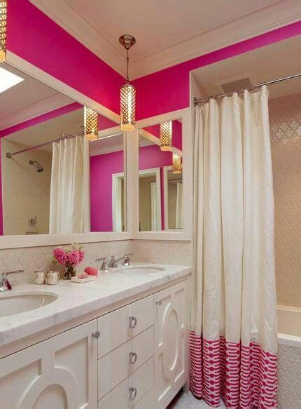 134 Best Images About Bathroom Styling On Pinterest Pink Bright Pink Bathroom Accessories
