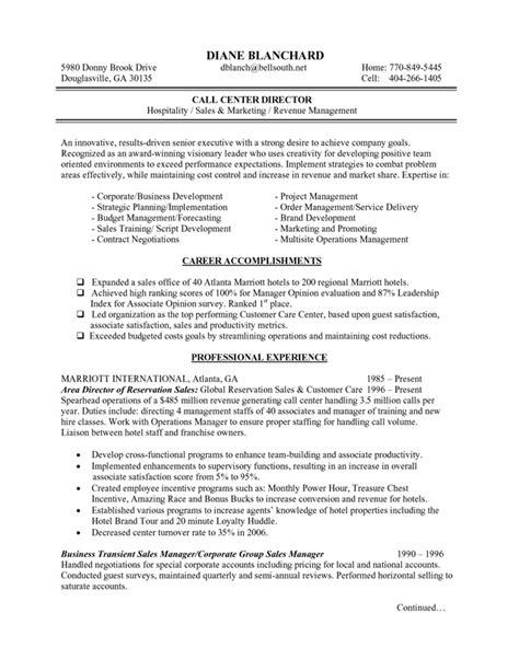 Hospitality Manager   BluePrint Résumés & Consulting