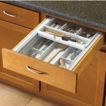 silverware drawer insert knape vogt cutlery flatware drawer inserts