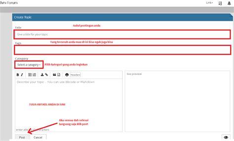 Cara Membuat Sebuah Abstrak | cara membuat sebuah artikel atau postingan di rhm forum