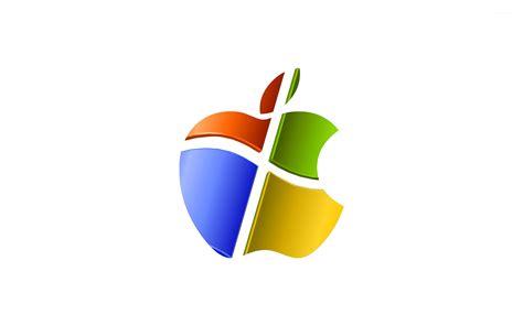 wallpaper apple vs windows apple windows wallpaper computer wallpapers 15290