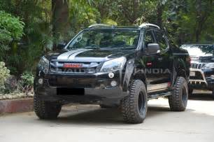 V Cross Isuzu Customised Isuzu D Max V Cross Will Scare You Instantly