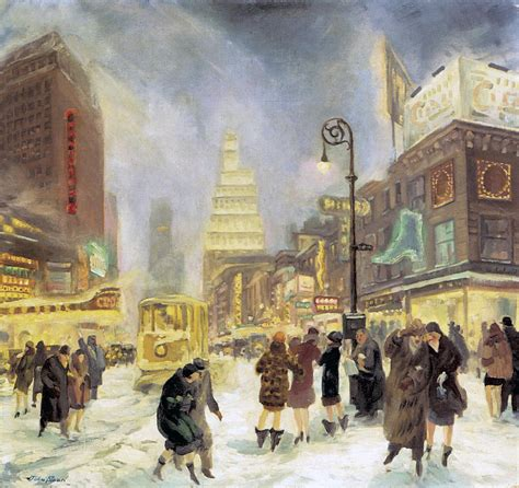 New American Home Plans by The White Way Photograph By John Sloan