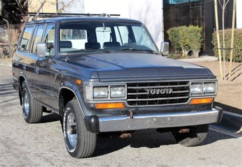 automobile air conditioning service 1993 toyota land cruiser regenerative braking 1990 toyota land cruiser fj62 4x4 two owner runs a cold air conditioning classic toyota