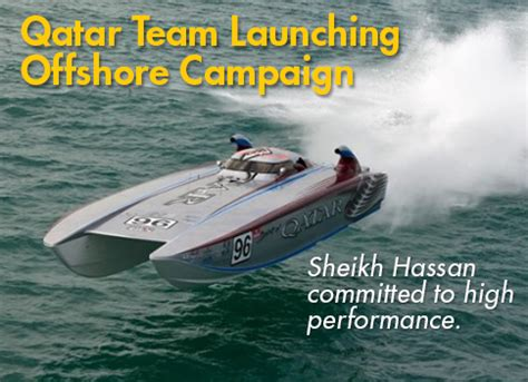buy a boat qatar 187 qatar team launching offshore caign this month in