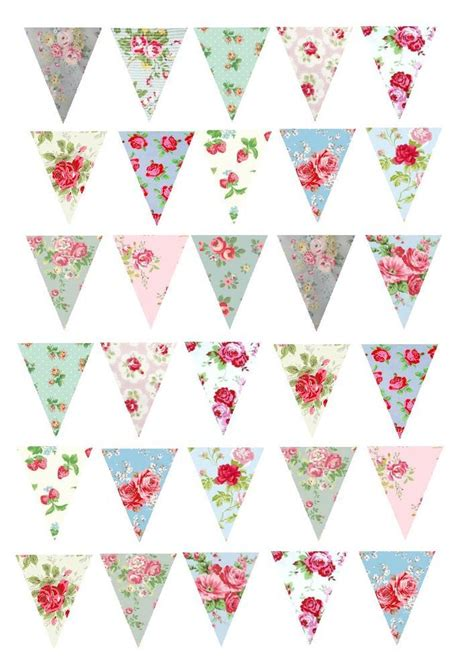 vintage bunting template gallery templates design ideas
