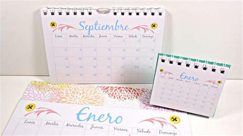 como hacer declaracin mensual 2016 c 243 mo hacer tu propio calendario parte 2 calendarios