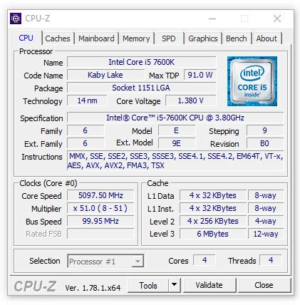 Ntel I5 7600k 3 8ghz Up To 4 2ghz Cache 6mb Box Soc intel kaby lake i7 7700k and i5 7600k review published