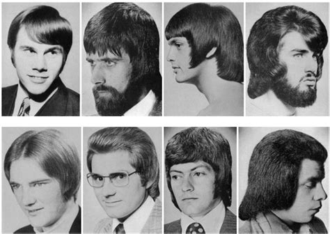 bad hair styles of the 70s a hilarious montage of bad hairstyles for men from the