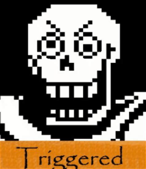 triggered papyrus trigger   meme
