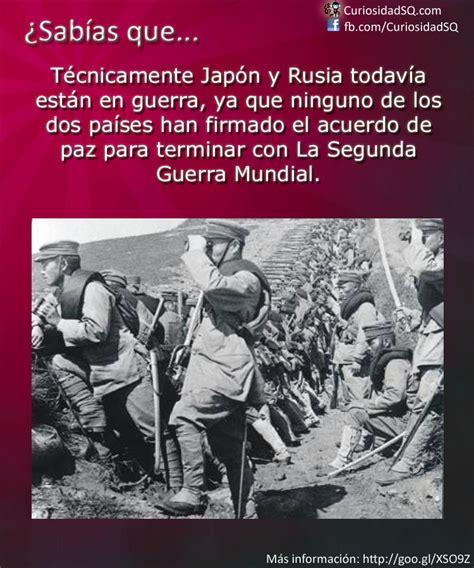 imagenes de japon en la segunda guerra mundial 191 sab 237 as que jap 243 n y rusia todav 237 a est 225 n en guerra desde