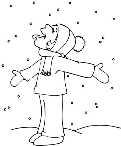 snow coloring pages preschool free winter coloring pages winter coloring pages06 jpg