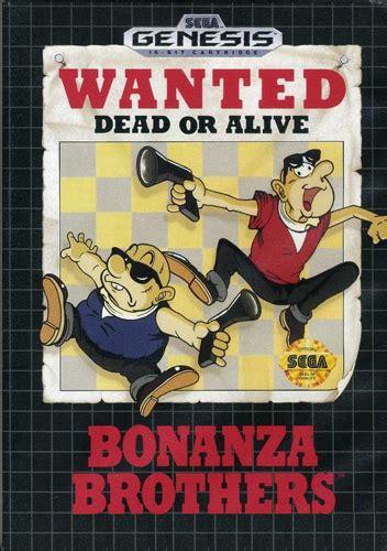 Play Bonanza Bros. Sega Genesis online   Play retro games