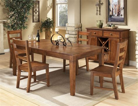 Rubberwood Kitchen Table Intercon Scottsdale Solid Rubberwood 5 Dinette Set Contemporary Dining Sets By