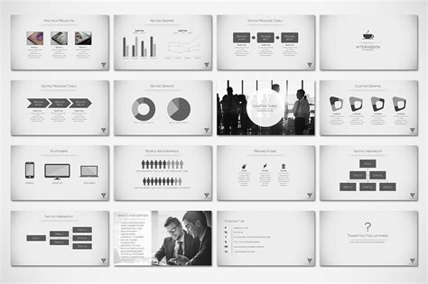 powerpoint layout minimal vertex minimal presentation by tugcu design co on