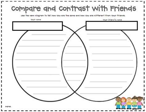 Compare And Contrast Worksheets by The Wizard Of Boz