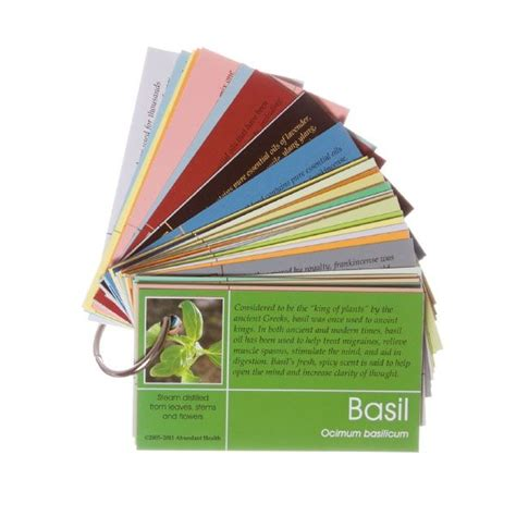 Business Card Essential Information doterra pass along card set on a ring 60 cards