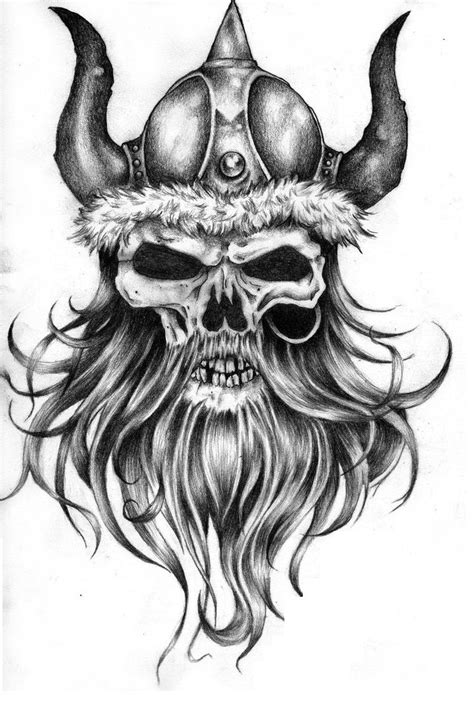 viking skull tattoo jpg 720 215 1076 victory pinterest