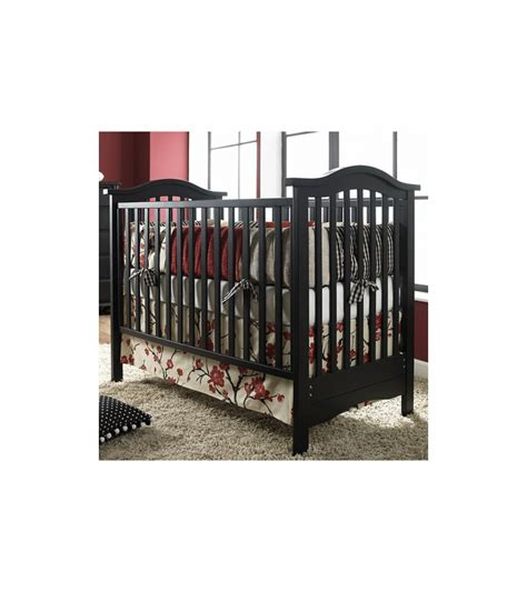Bonavita Hudson Classic 3 In 1 Non Dropside Crib In Licorice Bonavita Convertible Cribs