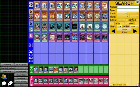 yugioh deck editor yu gi oh deck creator 44 desktop wallpaper animewp